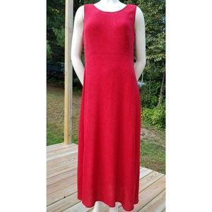 Karin Stevens Petite  Red Long Dress